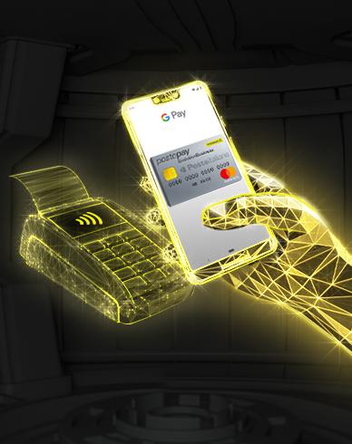 Postepay Evolution Business. La carta che ti fa pagare anche con lo smartphone.