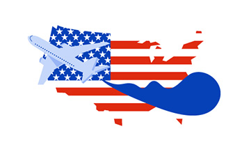 PosteTips spedire in USA